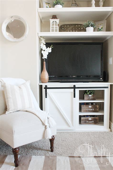 sliding door console table thrifty and chic diy projects and home decor