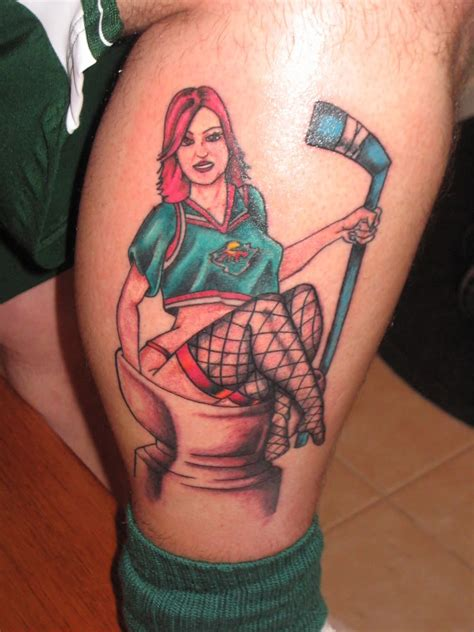 wild tattoos 30 nhl tattoos for 30 nhl teams the lowdown