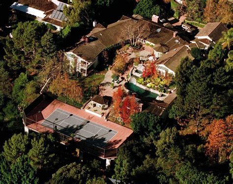 Jim Carrey Brentwood Celebrity Homes Lonny