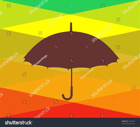 umbrella layout vector colorful umbrellas background vector available stock