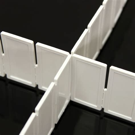 Drawer Partitions by 6pcs Plastic Diy Drawer Partitions Divider Free