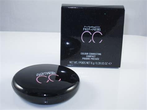 prep prime cc colour correcting loose mac cosmetics mac prep prime cc colour correcting compact review