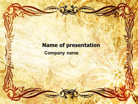 cornici per powerpoint powerpoint templates and backgrounds for your