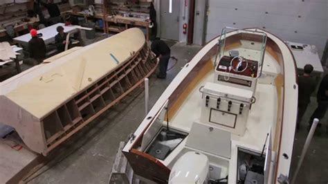 how to build a boat for school the landing school wooden boat building program youtube