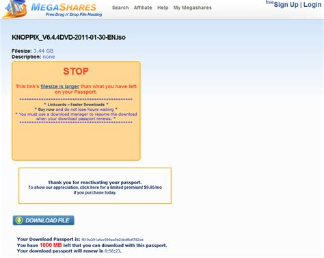 html tutorial url megashares tutorials how to download from megashares