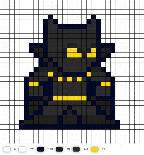 pattern unlock pixel 2 black panther perler bead pattern marvel 8 bit perler