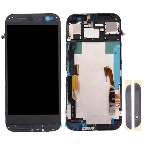 Lcd Htc M8 replacement for htc one m8 lcd screen touch screen digitizer assembly with frame front glass