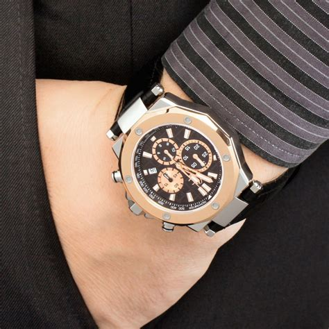 Gc Cronograph Leather gents gc gc 3 chronograph x72005g2s watchshop com