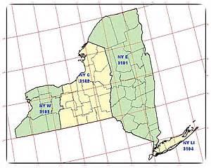 state plane coordinate system map tech talk state plane coordinates