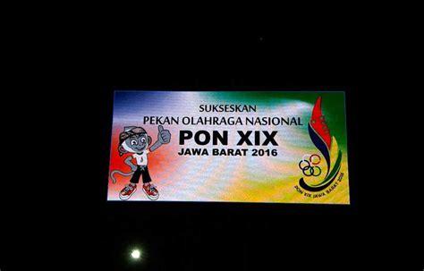 Led Bandung stadion atheletic bandung leseen led display