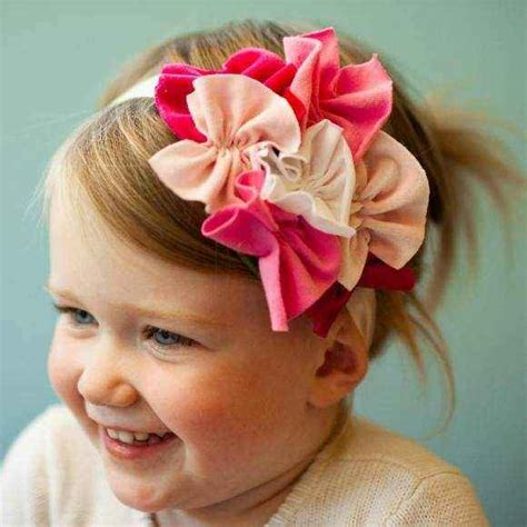 Handmade Baby Headbands - pink children s headband lemonade couture