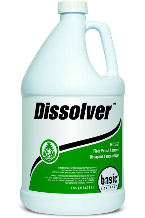 Dissolver Floor Remover - basic coatings dissolver floor remover