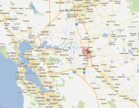 stockton california map