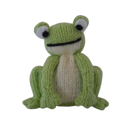 knitted frogs frog by knitables knitting pattern
