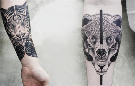 geometric animal tattoos collection of 25 geometric animal