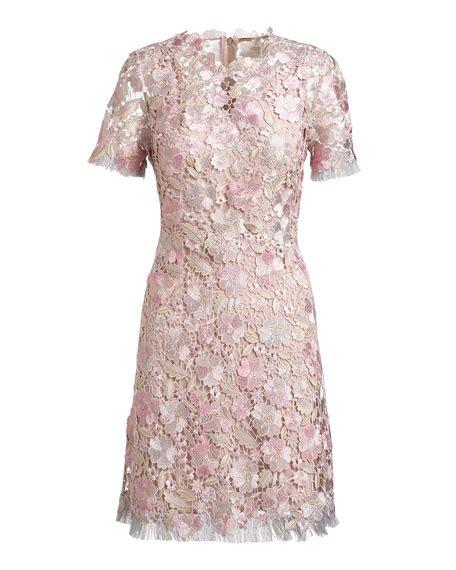 pattern for black lace dress elie tahari laura short sleeve lace dress pink pattern