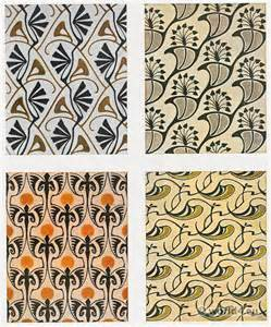 Art Deco Flooring collection of antique fabric design costume history