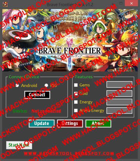 brave frontier mod android game hacks hacks n tools brave frontier hack v1 2 updated 2014