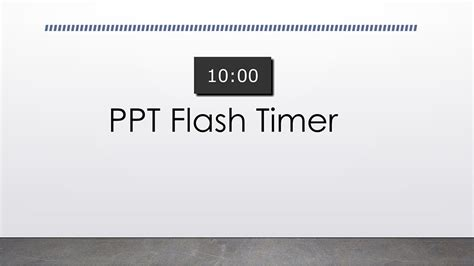 Countdown Timer For Powerpoint For Windows By Ltc Clock Powerpoint Timer Free