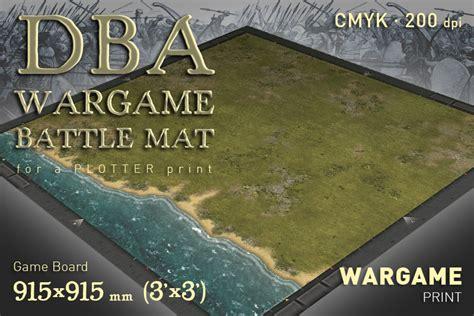 Combat Mat by Dba Battle Mat 014wp Littoral Grass Plain Wargameprint