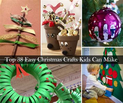 christmas decorations for children to make at home top 38 easy and cheap diy christmas crafts kids can make