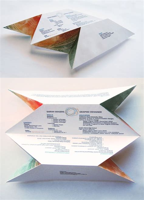Origami Cv - resume graphic designer resume and creative on