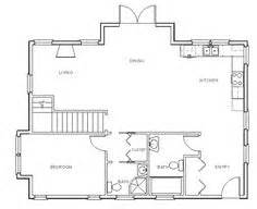 how to draw stairs in a floor plan typical concrete slab on grade continuous footing detail