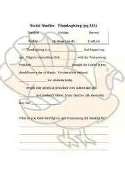 thanksgiving fill in the blank english teaching worksheets thanksgiving day