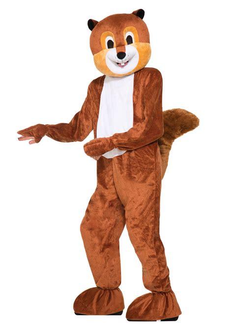 mascot costume scer the squirrel mascot costume