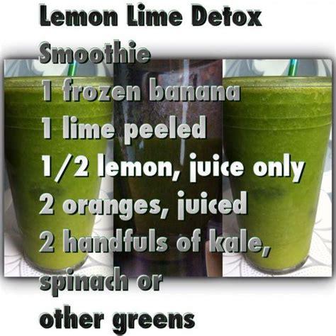 Lemon Lime Detox Smoothie Recipe by Lemon Lime Detox Smoothie Na Soki I Smoothies Przepisy