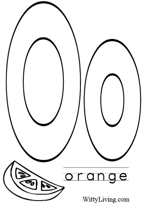 O Coloring Pages Letter O Coloring Pages To Download And Print For Free by O Coloring Pages