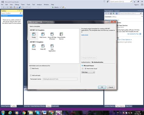 templates for visual studio 2015 rishitnandan com missing mvc template in visual studio 2015