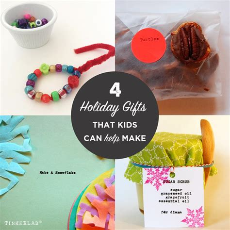 Handmade Items To Make - last minute easy handmade gifts to make with tinkerlab