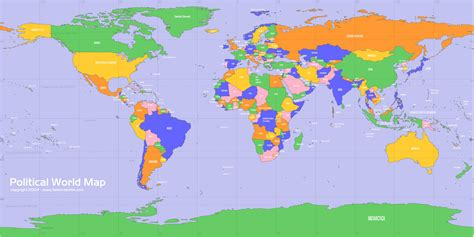 world political map image world maps free