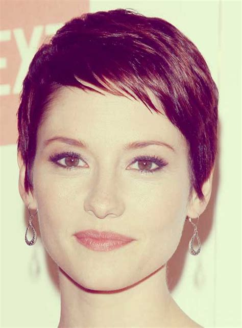chyler leigh short hairstyles best short pixie haircut for fine 100 best pixie cuts the best short hairstyles for women