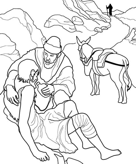 Helping Others Free Coloring Pages Helping Others Coloring Pages