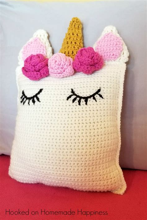 unicorn cushion pattern unicorn pillow friend crochet pattern hooked on homemade