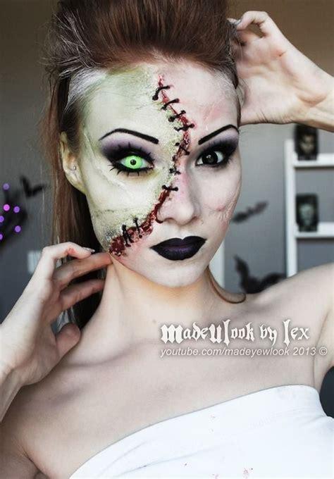 themes of beauty in frankenstein halloween makeup ideas for 2014 3 fashion trend seeker