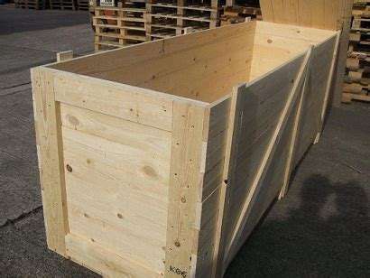 large crates packing crates