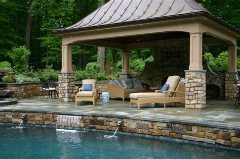 pool houses design maryland md custom design pool house installation va