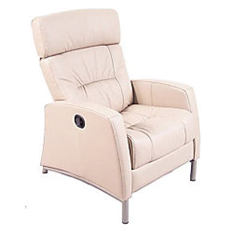 chairworks recliner chairworks leather recliner 41 34 h x 29 w x 35 34 d satin