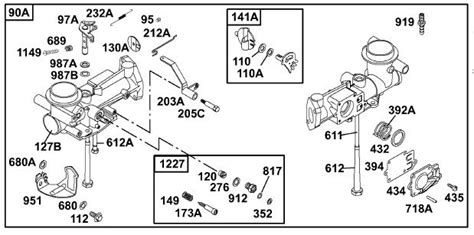 5hp briggs and stratton carburetor diagram briggs stratton carburetor diagram 34 wiring diagram