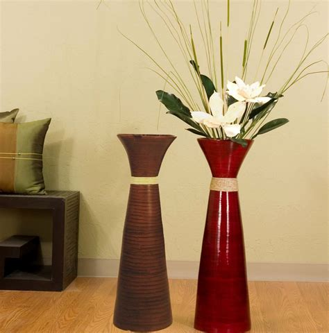vase decoration ideas large glass floor vase ideas living room decoration floor