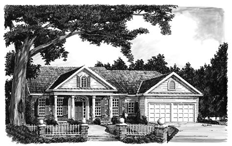 front exterior the adams floor plan 2120sq ft 2014 classical style house plan 3 beds 2 baths 1651 sq ft
