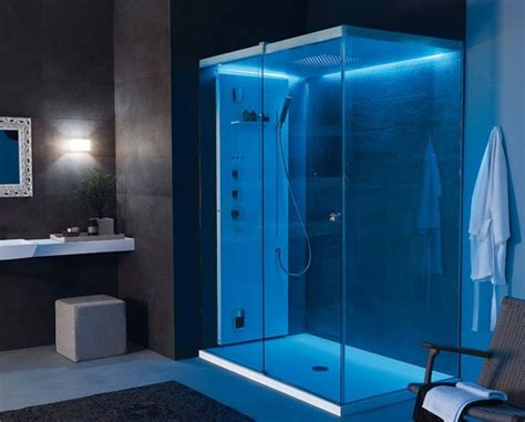 enclosed bathroom light light by tueco is a completely enclosed shower stall