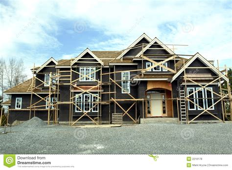 house construction royalty free stock images image 2957369 large house under construction royalty free stock photos