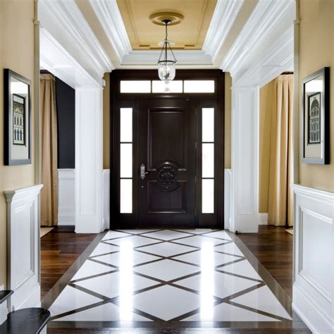 Foyer Tile Design Ideas 20 Entryway Flooring Designs Ideas Design Trends