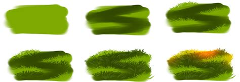 paint tool sai grass tutorial how i draw grass by ryky on deviantart