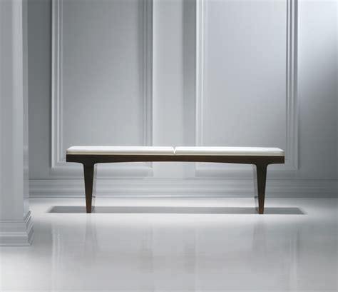 leather and wood bench fine wood white leather bench ambience dor 233