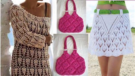 como hacer carteras tejidas a crochet faldas carteras blusas tejidas a crochet ideas de como